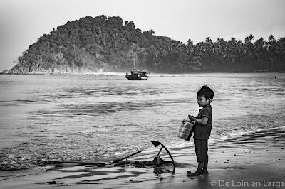 Ngapali - Linthar bay - Myanmar