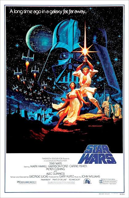 Póster original película La Guerra de las Galaxias