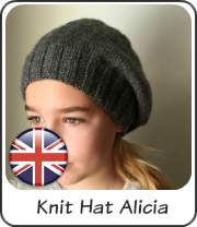 Knit hat Alicia