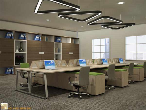 Được sản xuất trên dây chuyền hiện đại, máy móc trang thiết bị hàng đầu, các sản phẩm bàn làm việc văn phòng Miền bắc đảm bảo chắc chắn, độ bền cao sau thời gian dài sử dụng
