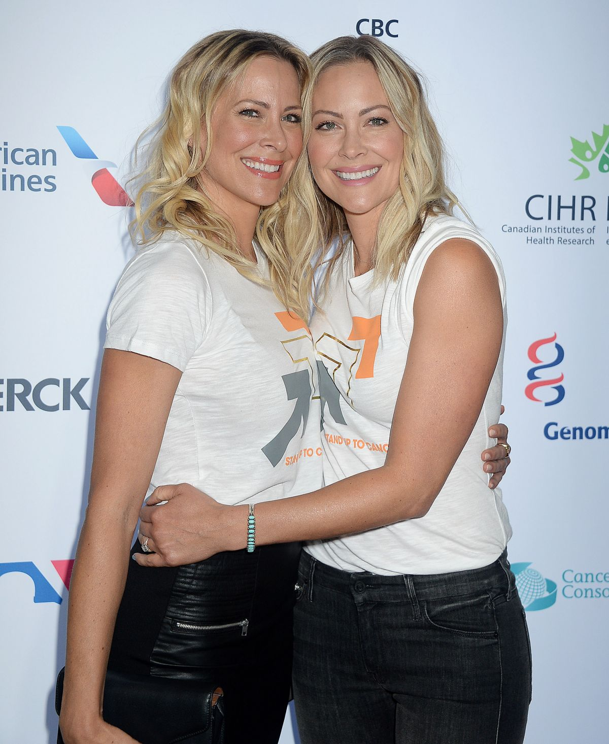 Brittany Daniel & Cynthia Daniel Snow At 5th Biennial Stand Up To Cancer, Los Angeles