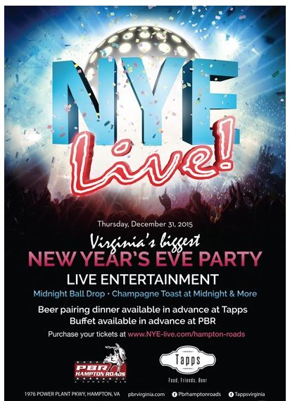 New Years Live! at PBR Hampton Roads