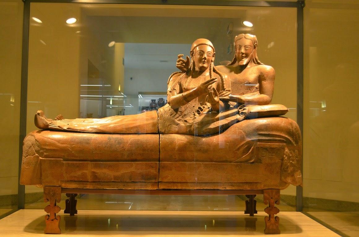 I viaggi di raffaella roma il museo nazionale etrusco di for Sala degli sposi