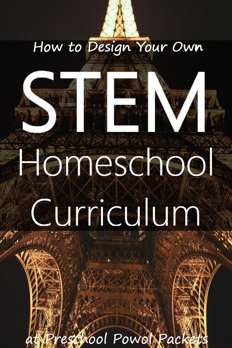 How To Design A Stem Homeschool Curriculum Preschool Powol