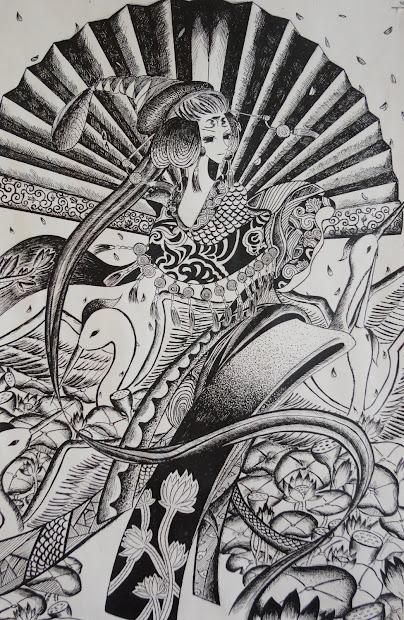 Art Mash Pen And Ink Drawings