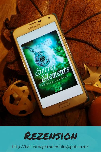 Buchrezension #93 Secret Elements 2 - Im Bann der Erde von Johanna Danninger