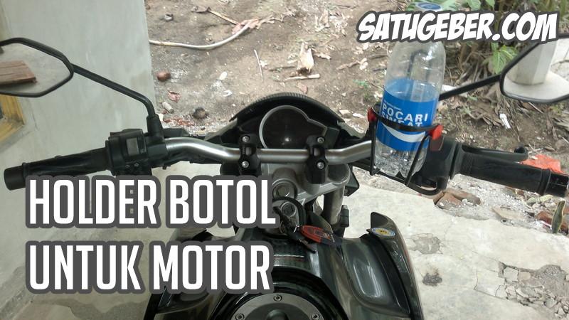 gambar dudukan botol untuk motor paling kuat dan murah