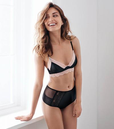 lencería sujetador y braguitas H&M para el Día de los Enamorados