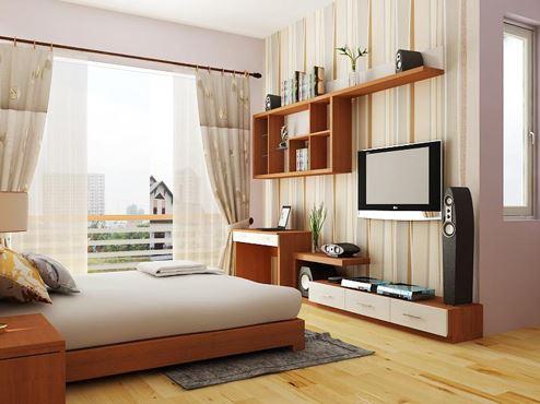 Vị trí giường ngủ ảnh hưởng đến vận may của gia chủ