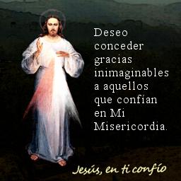 mensaje de misericordia Jesus en ti confio