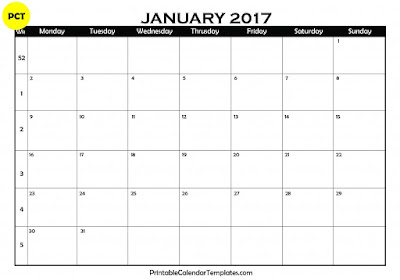 january 2017 calendar, january calendar 2017, january 2017 printable calendar, january 2017 blank calendar, january 2017 calendar template