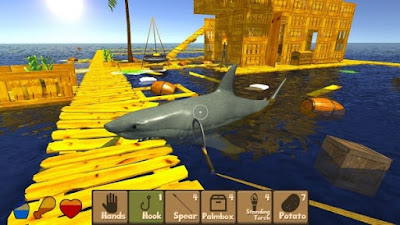 Raft Survival Simulator Mod Apk Unlimited Money