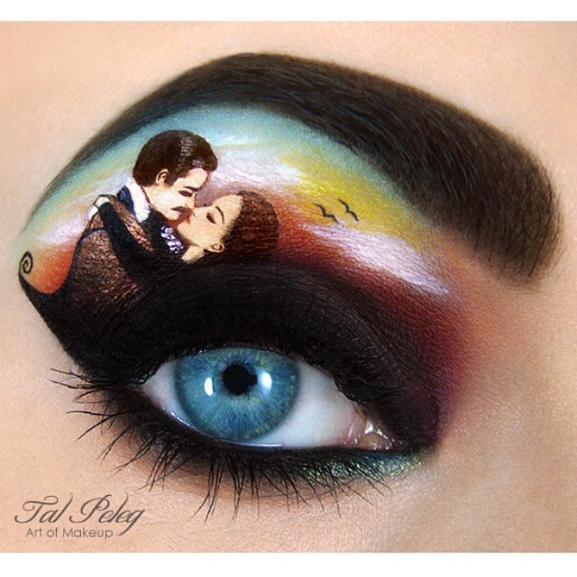 04-Gone-With-The-Wind-Tal-Peleg-Body-Painting-and-Eye-Make-Up-Art-www-designstack-co