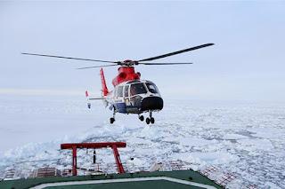 Rompehielos Xue Long en la 34 Misión Antártica