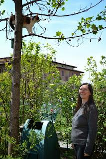 Risultati immagini per caterina regazzi in giardino