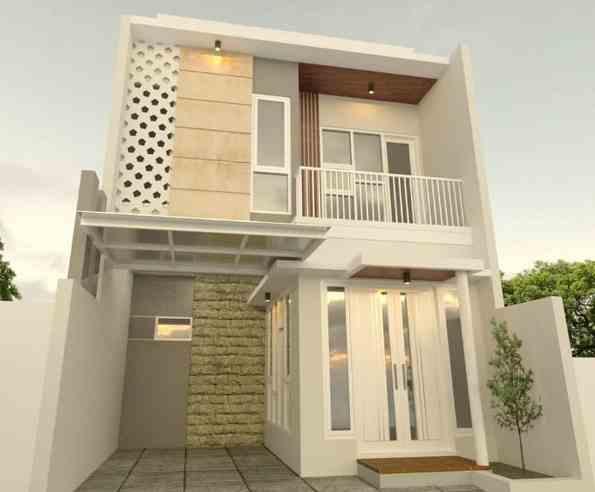 Model Depan Rumah Minimalis 2 Lantai