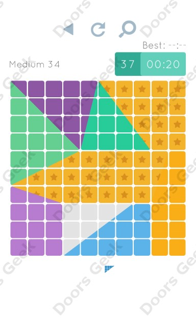 Cheats, Walkthrough for Blocks and Shapes Medium Level 34