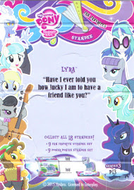 My Little Pony Lyra Series 3 Trading Card