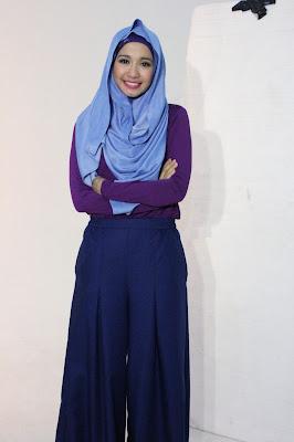 Artis cantik Hijab laudya cynthia bella umroh