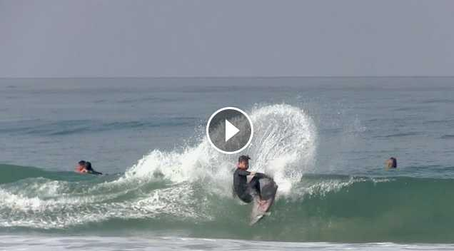 Morning SHRED in San Clemente - Kolohe Andino Kalani Robb More