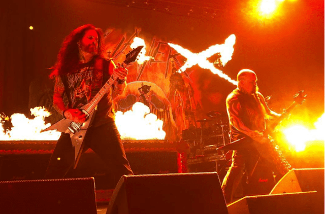 Slayer con Phil Demmel