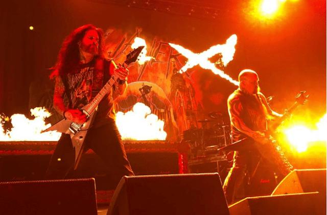 Slayer con Phil Demmel