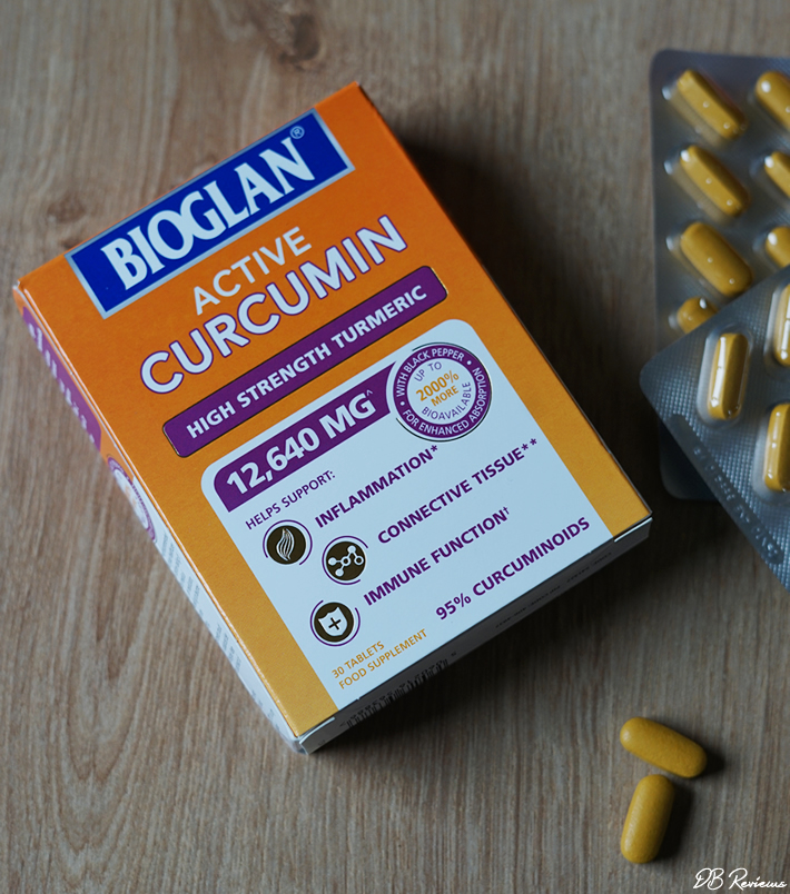 Bioglan Active Curcumin - High Strength Turmeric Supplement