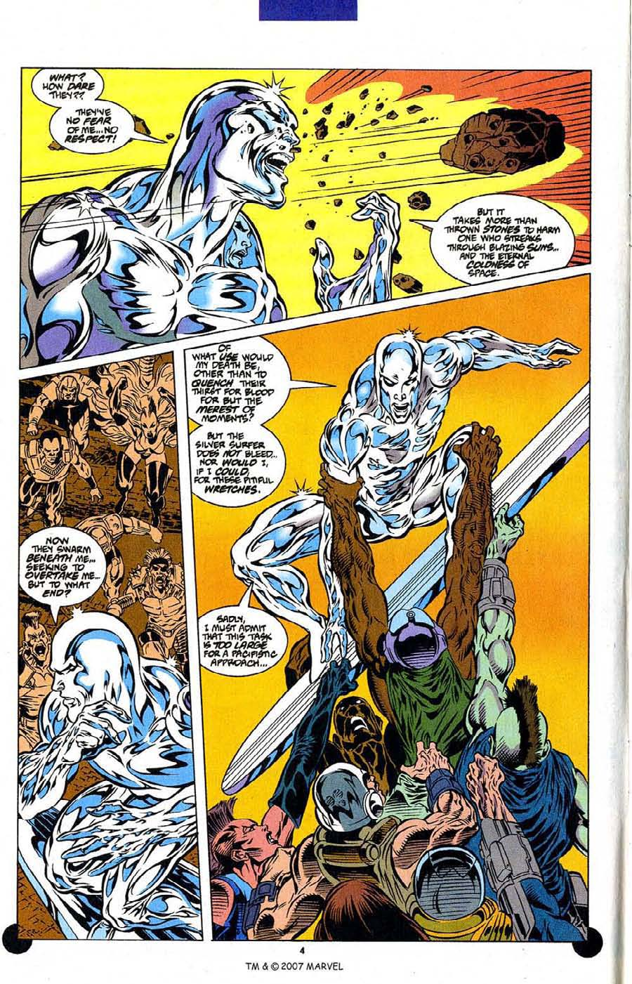 Read online Silver Surfer (1987) comic -  Issue #106 - 6