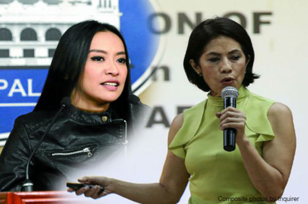 Mocha Uson defends Gina Lopez over 'trojan' issue: She's no 'dilawan'