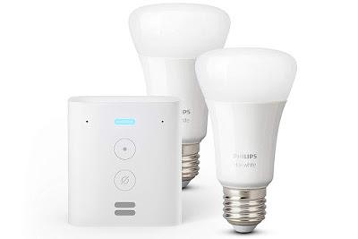 Echo Flex + Philips Hue (2x bombillas LED)