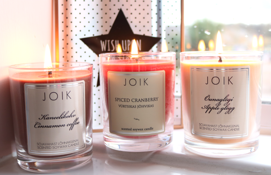 Home Fragrance: Staying Cosy with JOIK Candles