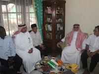 Dubes Kerajaan Arab Saudi Undang Istri dan Anak Damanhuri Zuhri Berhaji