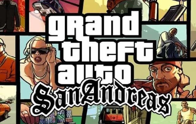 تنزيل لعبة GTA San Andreas للكمبيوتر مضغوطة بحجم صغير
