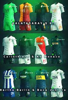 PES 2013 New Season Kits 2018 v1