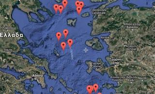 «Κλειδώνει» για 12 μήνες, τρεις περιοχές στην καρδιά του Αιγαίου, η Άγκυρα