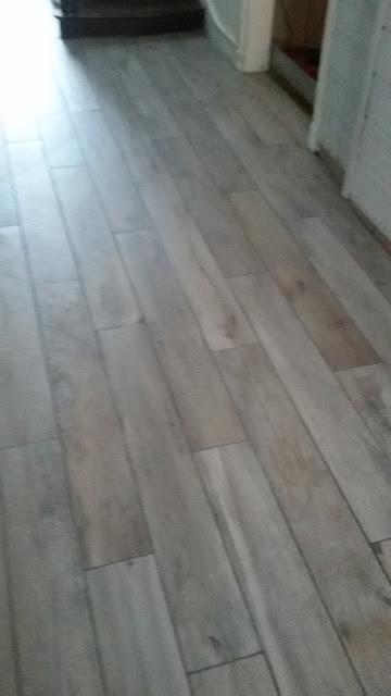 Pose carrelage imitation parquet bois grés cérame à Vouhé 79 Philpro carreleur