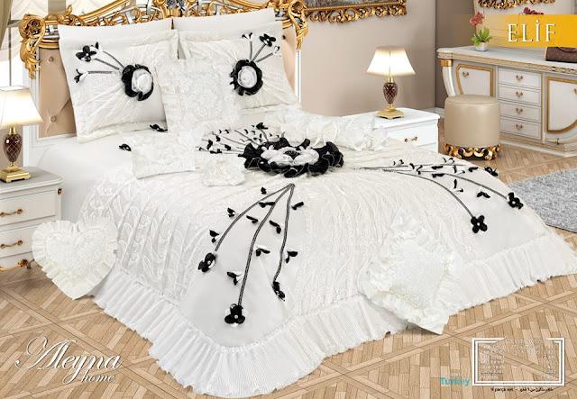 modern yatak örtüleri