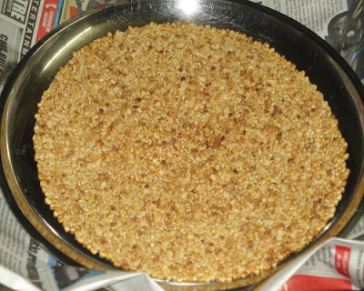 roasted urad dal