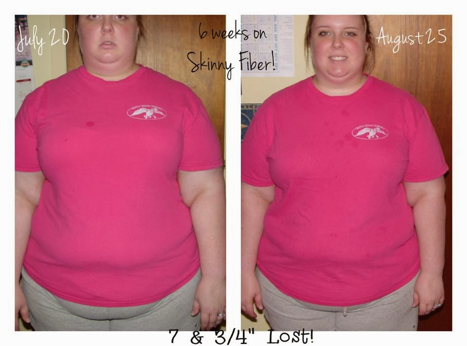 Can I lose weight on Skinny Fiber? Some people lose more inches than pounds.