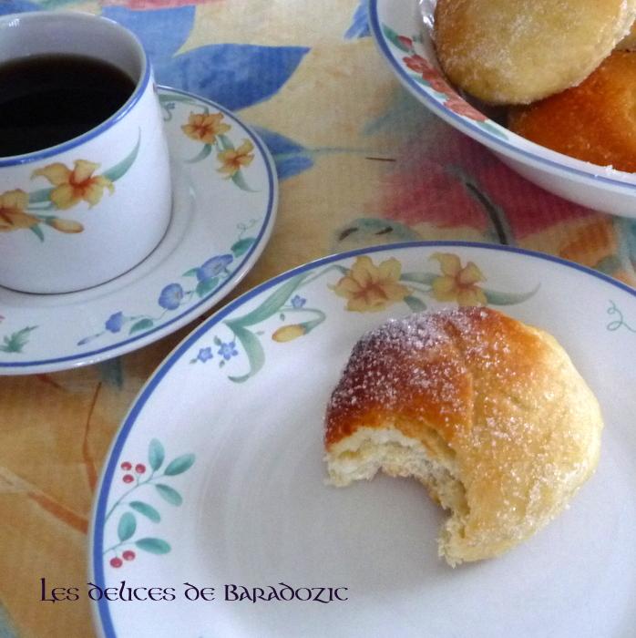 beignets vanill 233 s au four les d 233 lices de baradozic