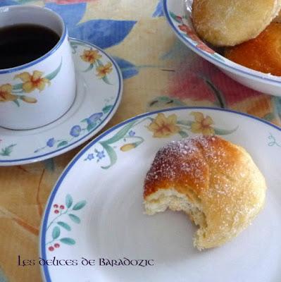 beignets vanillés au four