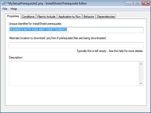 AppREPACK: Creation of  PRQ Files - Installshield