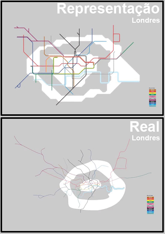 Mapas de Metros do mundo - Londres