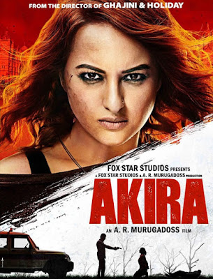 Poster Of Bollywood Movie Akira 2016 300MB DVDScr Full Hindi Movie