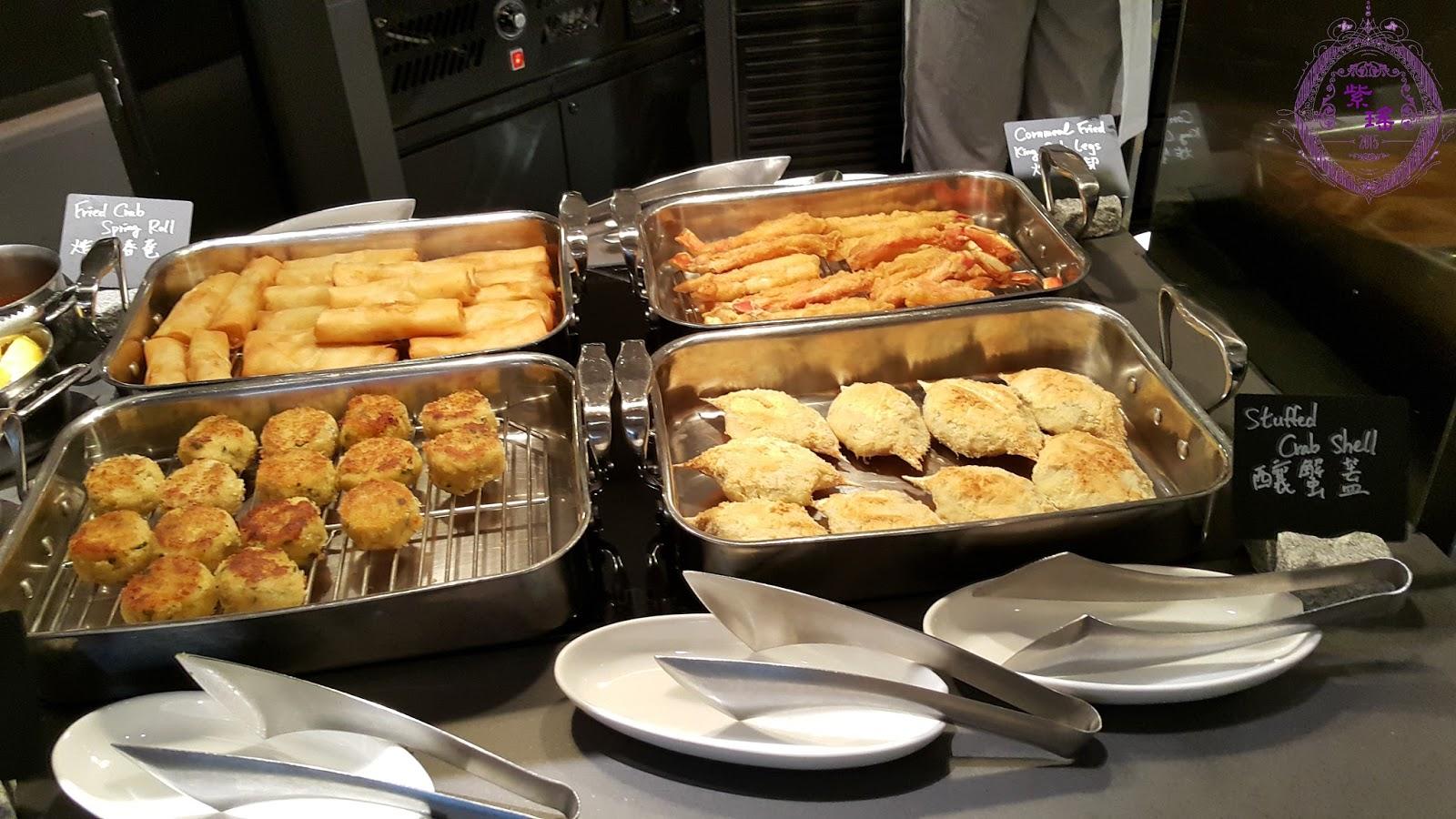 ~ 紫。曦。憶。記 ~ : 【香港|自助餐】萬豪JW Cafe - 限定主題の蟹宴自助餐