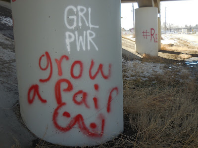 GRL PWR, Grow a Pair, Bozeman, MT