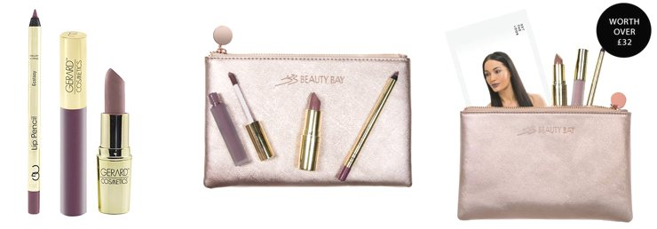 Beauty Bay Holiday Makeup Bag Lip Studio: Make A Statement