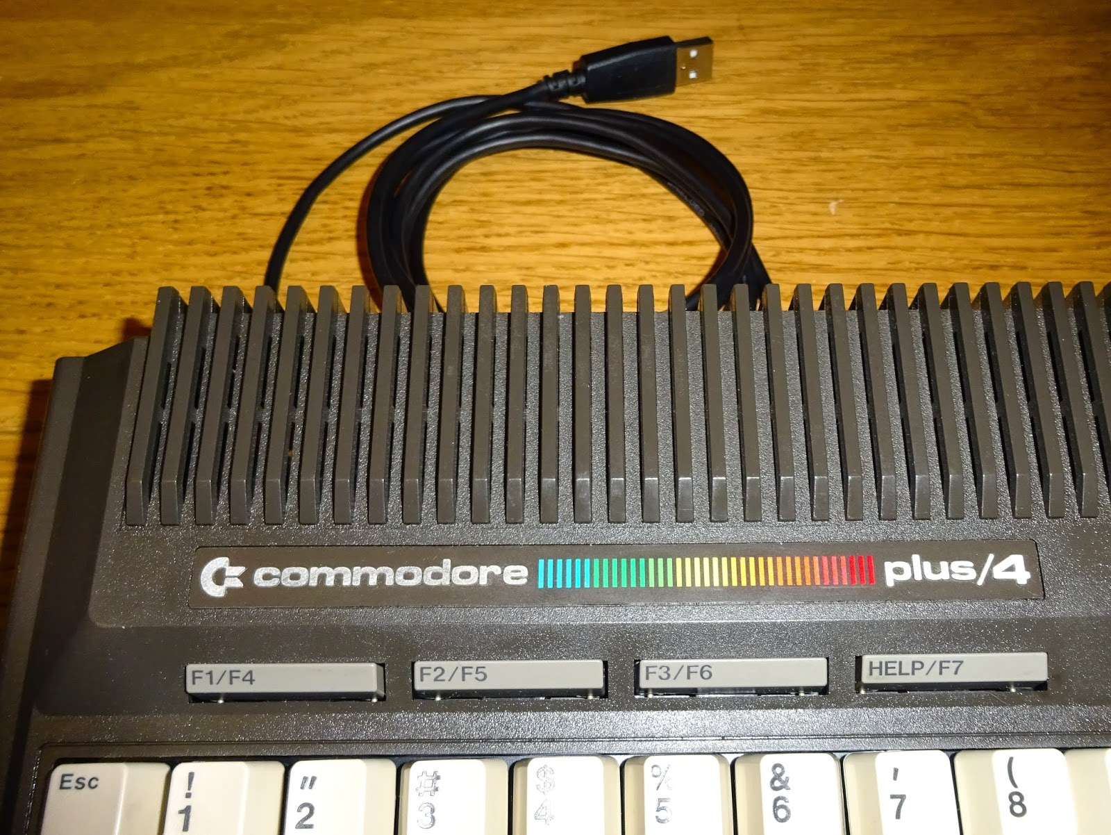 Tynemouth Software: Commodore plus/4 USB Keyboard