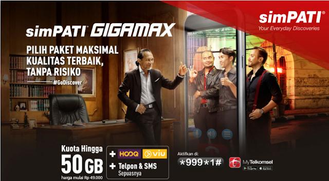 Promo Terbaru Paket Internet Simpati =>> Paket Internet Simpati GIGAMAX Dan Daftar Harga