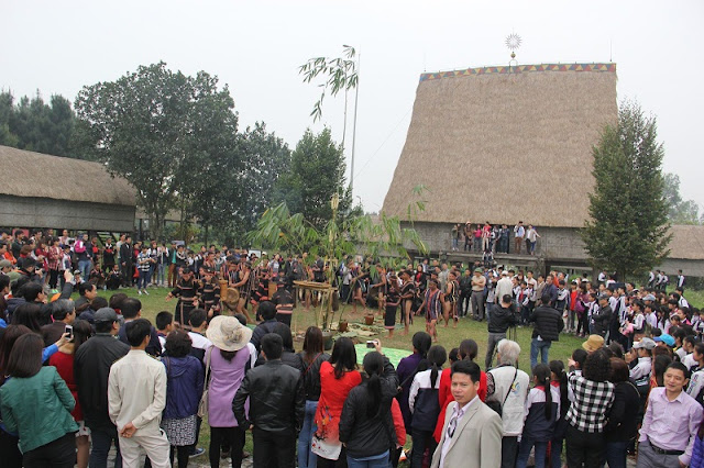 Activities welcoming New Year at Viet Nam National Villages for Ethnic Culture and Tourism 2